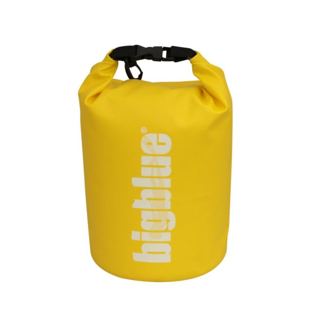 3L outdoor dry bag in yellow color