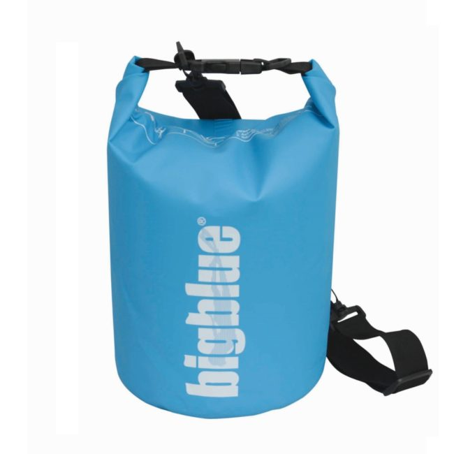 5L outdoor dry bag in light blue color