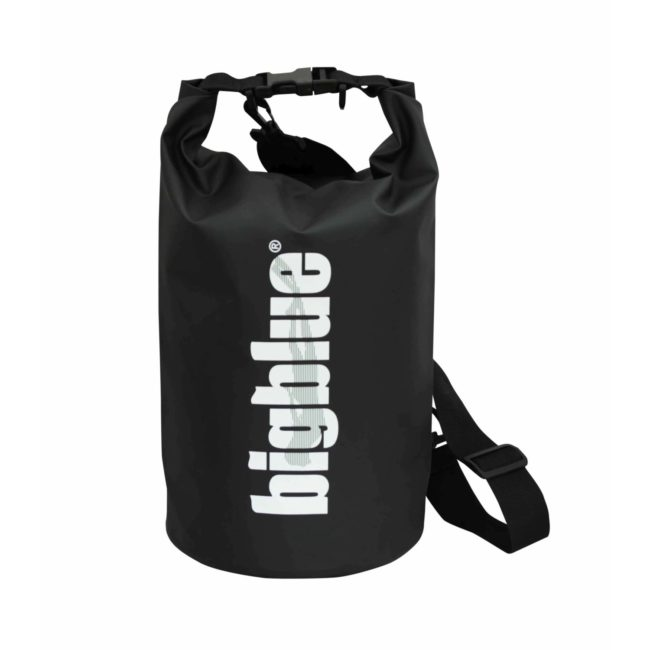 7L outdoor dry bag in black color