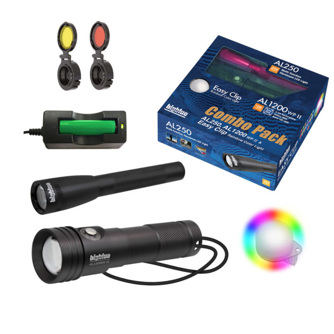Combo Pack: AL1200WP-II + AL250 + Rainbow EZ Clip