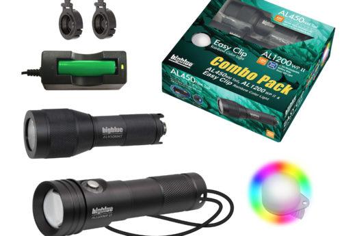Combo Pack: AL1200WP-II + AL450NT + Rainbow EZ Clip