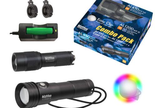 Combo Pack: AL1200WP-II + AL450WT + Rainbow EZ Clip