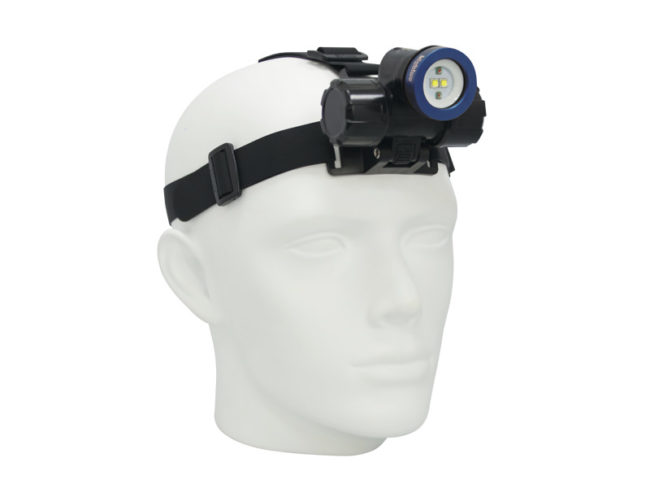 Head Light: 1000-Lumen Extra-Wide Beam