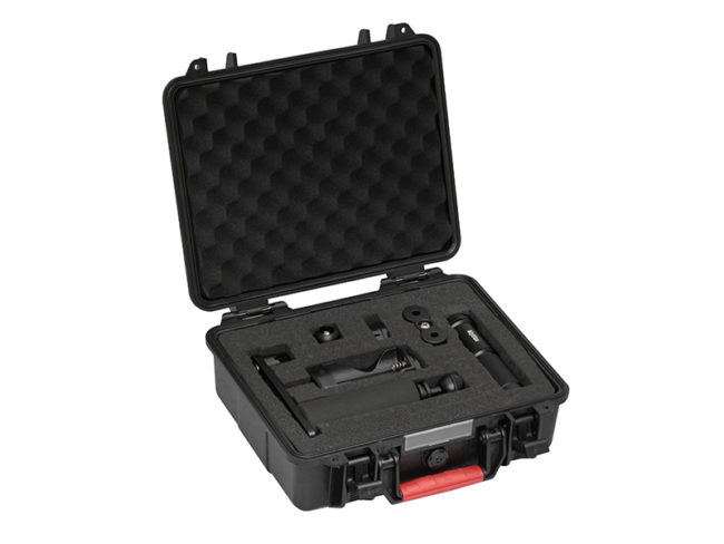 Protective Case with AL1800XWP Tri Color and Single Arm Tray