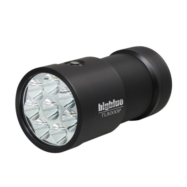 8000-Lumen Narrow-Beam Tech Light