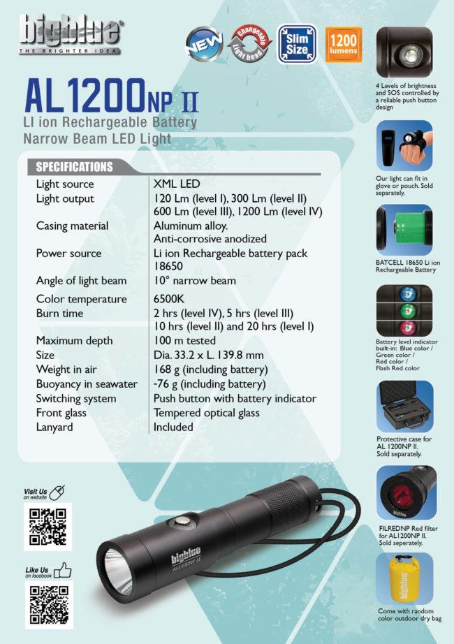 Tent Card AL1200NP II