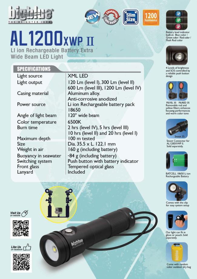 Tent Card AL1200XWP II