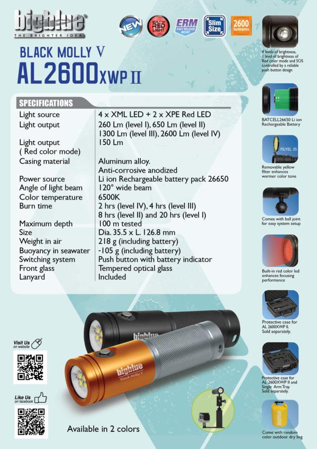 Tent Card AL2600XWP II
