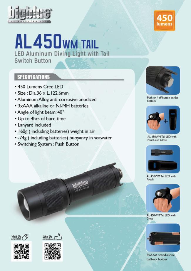 Tent Card AL450WM Tail