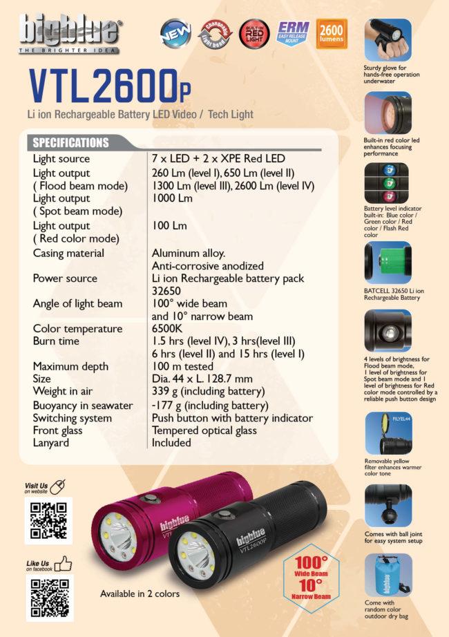 Tent Card VTL2600P