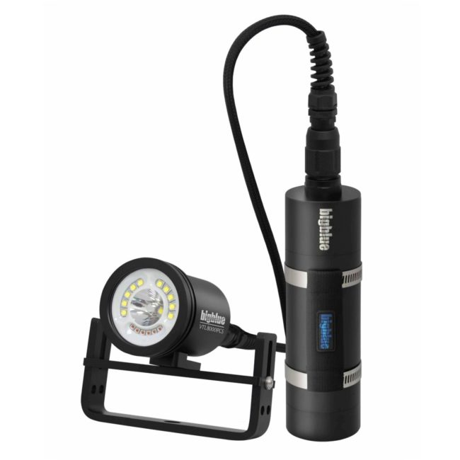 8000-Lumen Dual-Beam Canister Light