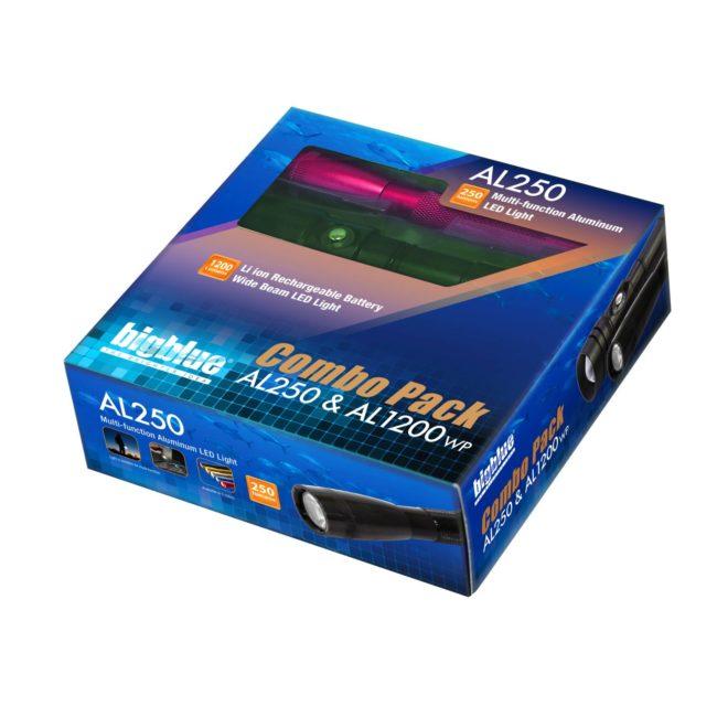"Combo Pack: 1200 Lumen + 250 Lumen (2018)<span class=""screen-reader-text"">SKU: CP-250-1200W</span> 1"