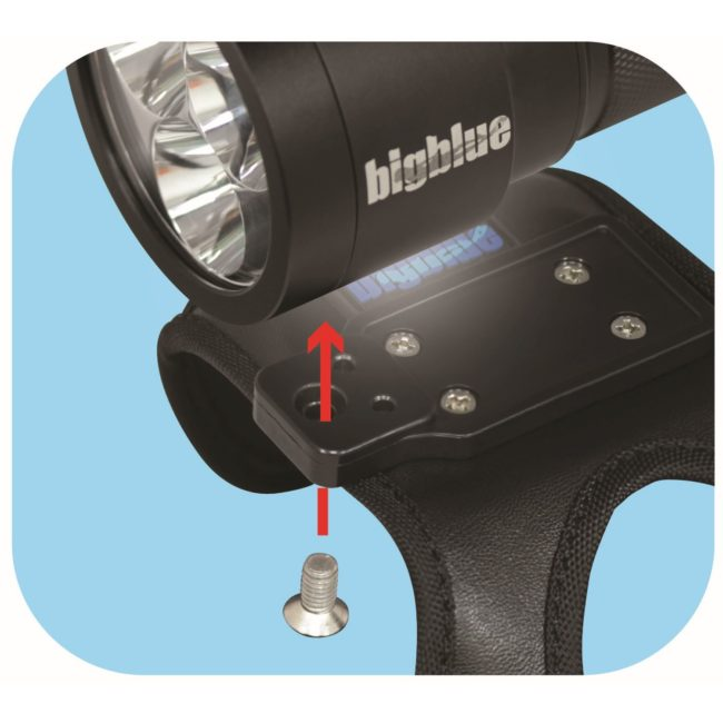 "6500-Lumen Video Light w/ Built-in Blue & Red Light<span class=""screen-reader-text"">SKU: CB6500PB</span> 8"