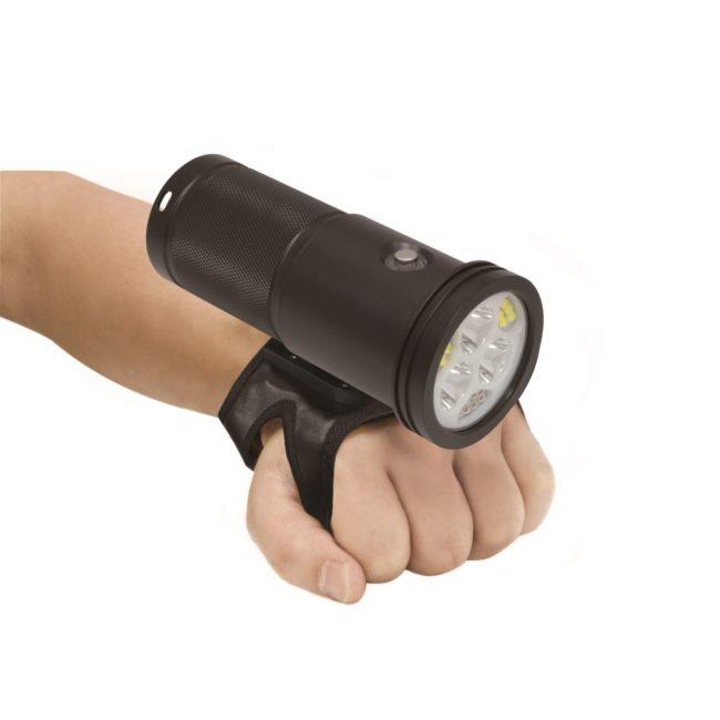 "8000-Lumen Wide Beam + 2600 Lumen Spot Beam - Black<span class=""screen-reader-text"">SKU: VTL8000P-MAX</span> 1"