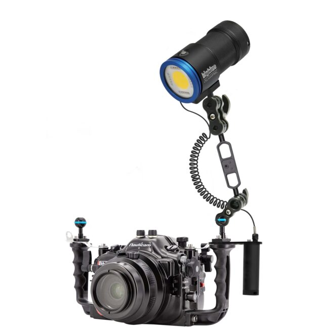 "15,000-Lumen Video Light - w/ Remote Control and Built-in Blue Light<span class=""screen-reader-text"">SKU: CB15000P-RCP</span> 7"