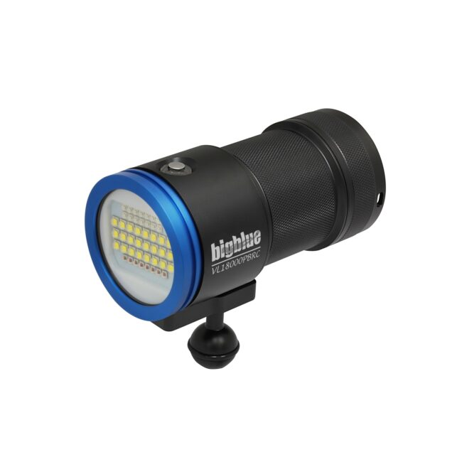 "18,000-Lumen Remote Control Video Light w/ Built-in Blue & Red LED <span class=""screen-reader-text"">SKU: VL18000PB-RCP</span> 1"