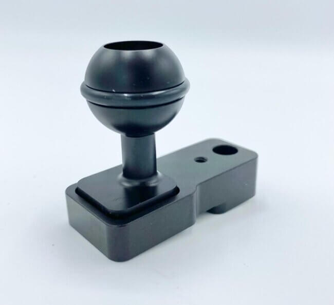 """1"""" Ball With Connector 1"""